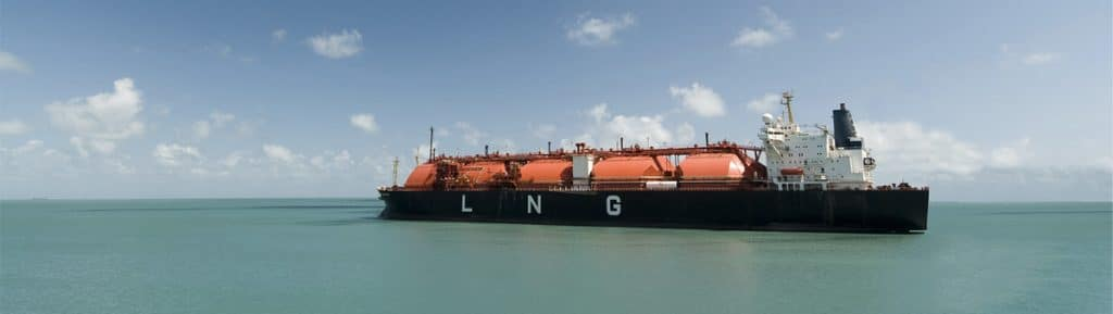 LNG Transport per Schiff